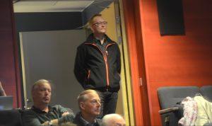 Ulf Erlandsson var med på kommunfullmäktige som åhörare. Foto: Anders Thall