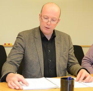 Mats Sturesson C) är beredd att återkomma som kommunalråd i nästa vecka. Han är också ledamot i valberedningen och redogjorde vid presskonferensen för valen.