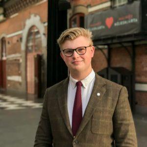 Moderaternas kretsordförande Kenny Hansson, anser att Bernsheims skulder kunde påverka förtroendet hos både väljarna och internt. Foto: Urban Önell