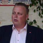 Sösdalabon och skolpolitikern Joachim Fors S) talade.