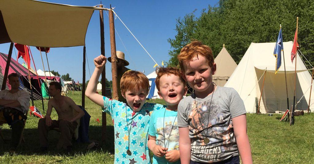 Linus, Zacharias och Julius Olander hade en alla tiders dag på Hovdala.