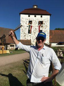 Slottschef Jens Olsson var mycket nöjd med årets arrangemang.