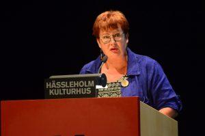 Lena Nilsson (S) blev vald till förste vice ordförande i socialnämnden.