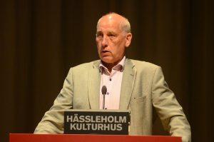 Robin Gustavsson (KD) ska fortsätta som socialnämndens ordförande när han blir kommunalråd i nästa vecka. Foto: Urban Önell