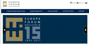 Europaforum i Hässleholm fortsätter efter 15 år att locka även ledande politiker till debatter. Fem partiledare är nu klara för medverkan. Hela programmet finns på hemsidan eu-forum.se