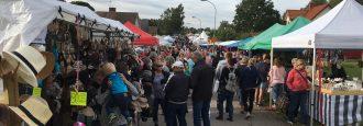 Ideella krafter välkomnar 80 000 besökare till Hästveda marknad