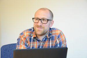Mark- och exploateringschef Jakob Ruter är glad att få hit Biltema efter fem års dialog.