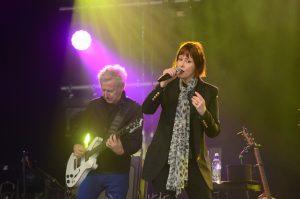 Suzanne Vega var en favorit för många - för Anders Wimqvist var det dock gitarristen som lockade mest. Foto: Urban Önell