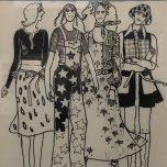 Gunnel Götesdotter delar med sig av modeteckningar och kärlek till Paris