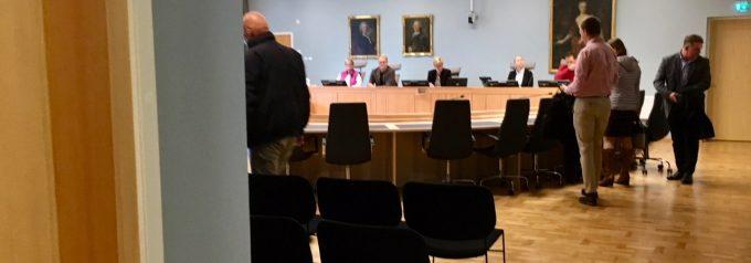Målet mot Hässleholms vatten lades ned under pågående rättegång