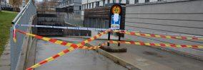 P-garaget på Norra Station öppnas efter branden – Kommunens kostnader ännu preliminära