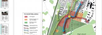 Tävling om att bygga bostäder på omstridda Björklunda Byggföretag ska få påverka detaljplanen