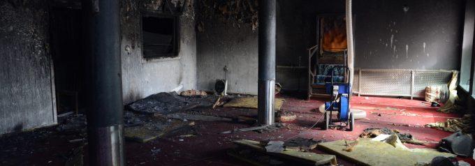 Utredningen om moskébranden nedlagd