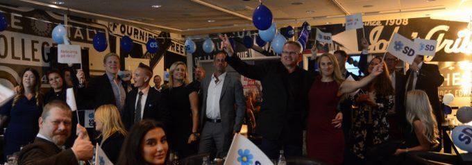 SD största parti i Hässleholms kommunval