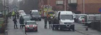 Polisen bekräftar skarp bilbomb på Verkstadsgatan