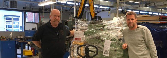 Företagare vädjar för industriteknikprogram Nyrenoverade maskiner på plats