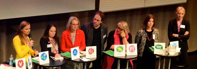 Europaforum i Hässleholm inledde med valet i fokus