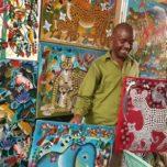 Färgstarka målningar från Tanzania