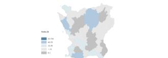 Hässleholm har flest nya fall av covid-19 i Skåne