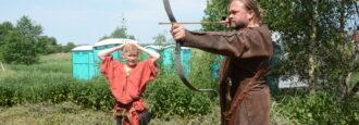 Arn fick kämpa på het vikingamarknad